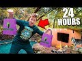 Can We Survive 24 Hours In The Forest With Only Dollar Store Items Challenge mp3