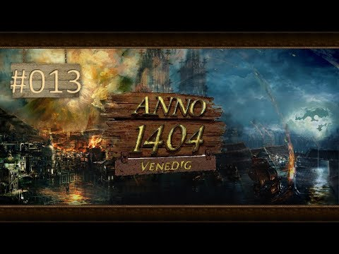 Let's Play Anno 1404: Venedig / Bücher für die Patrizier #013 / (German/Deutsch/Gameplay)