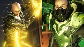 Marvel's Spider-Man (2018) - Electro & Vulture Boss Fight (Spectacular Difficulty)