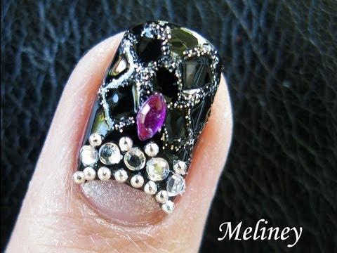 Chanel Bag Designer Nail Art