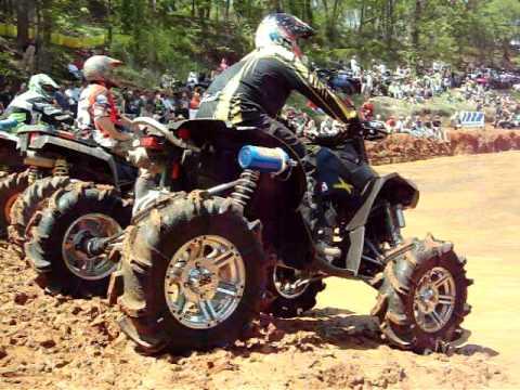 SIck Nitrous Can Am Renegade 800 Mud Nats 2009