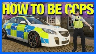 Forza Horizon 4 Online : How To Be A Police Officer!!