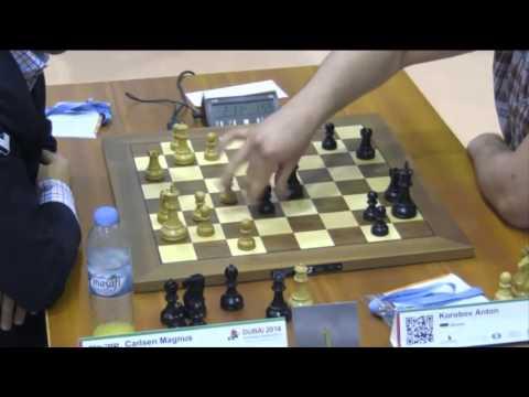 Carlsen vs Korobov - 2014 World Blitz Championship