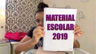 MEU MATERIAL ESCOLAR COMPLETO 2019 - ISABELA VAIDOSA