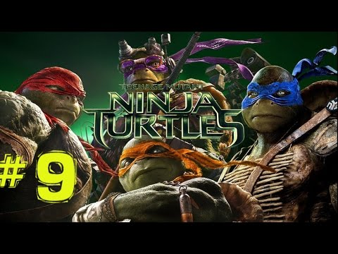 Teenage Mutant Ninja Turtles 2014 Movie Game Part 9 City Streets YO