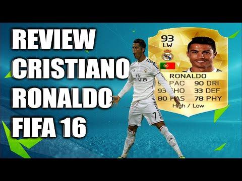 REVIEW CRISTIANO RONALDO FIFA 16   ESPANOL   REVISADO CR7 FUT 16   TUKUTU