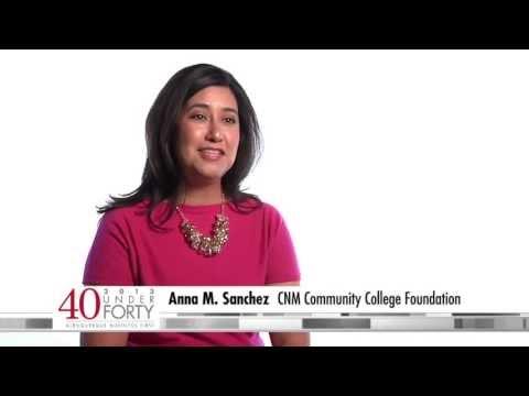 Anna M. Sanchez, Central New Mexico Community College Foundation
