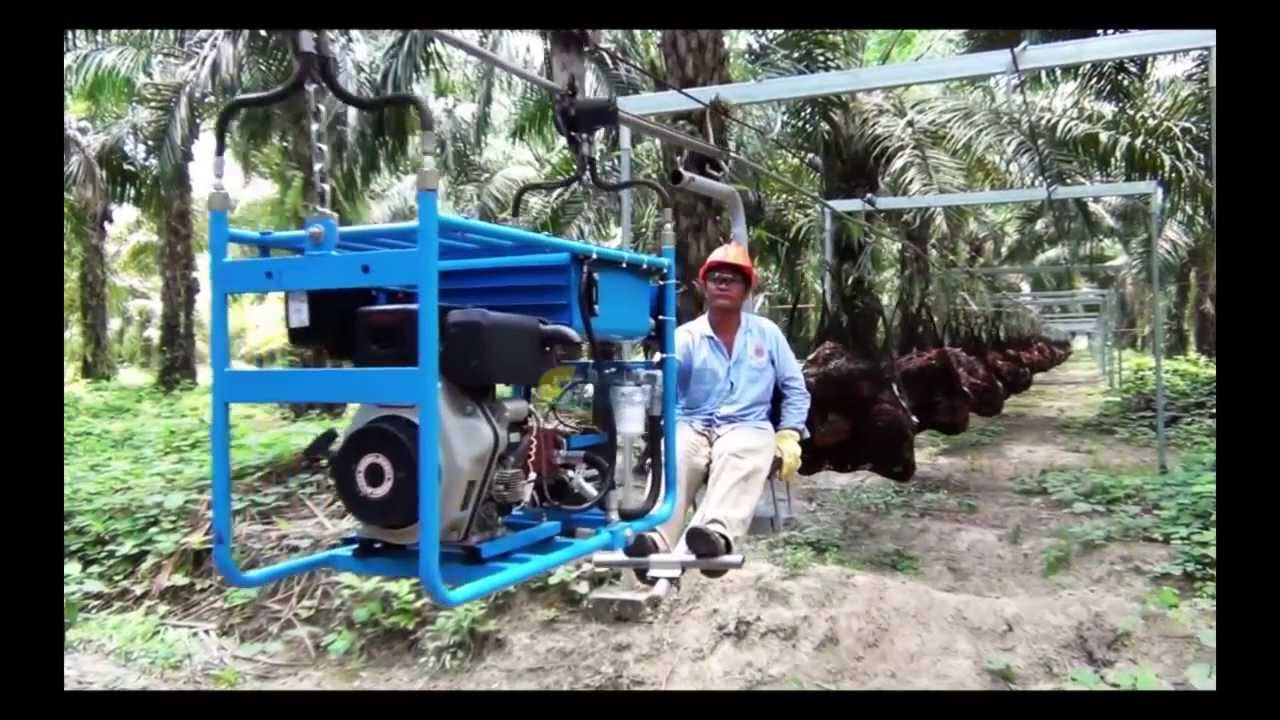 Oil Palm Cableway Centro Aceros Youtube