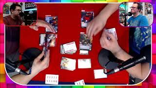 Transformers Trading Card Game Playthrough | Ludum Tempus
