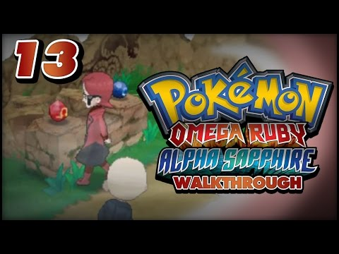 Pokémon Omega Ruby And Alpha Sapphire Walkthrough - Part 13: Team Magma At Mt. Pyre! video