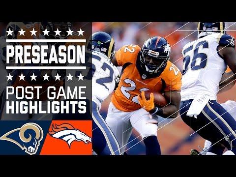 Rams Vs Broncos Game Highlights Nfl