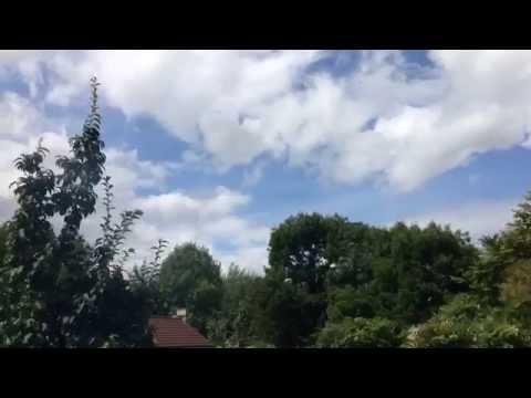 Before 'Hurricane Bertha' Hits The UK - 09/08/2014