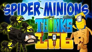 TERRIFYING TRICK OR TREAT!!! | Think's Lab Minecraft Mods [Minecraft Roleplay]