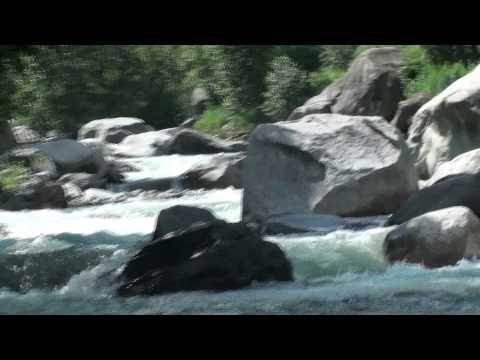 Aman at Manali river India Awesome video wonderful sights and...