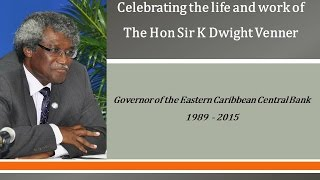 ECCB Connects - Season 3: Episode 1 - Tribute to Hon Sir K Dwight Venner