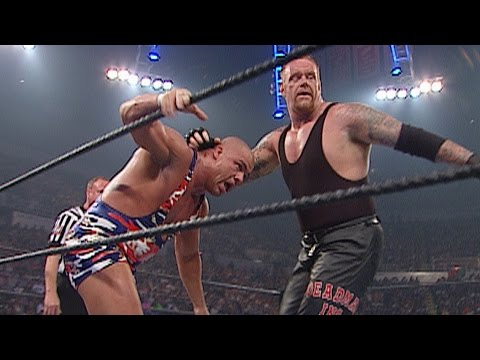 WWE Undisputed Title Triple Threat Match: Vengeance 2002 on WWE Network