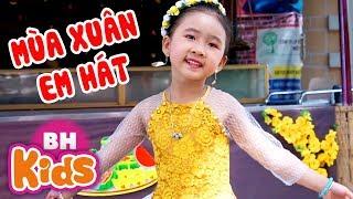 Mùa Xuân Em Hát - Siêu nhí Candy Ngọc Hà ♫ Nhạc Thiếu Nhi 2019