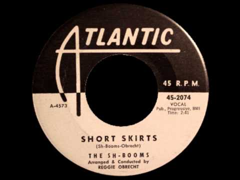 SH-BOOMS AKA CHORDS - Blue moon / Short skirts - Atlantic 2074 - 1960