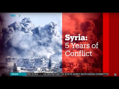 Syria Five Years Of Conflict, March 17