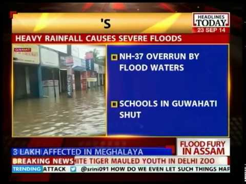 Assam flood fury: Schools in Guwahati has been shut