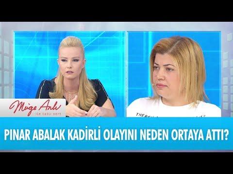 Gelin Pınar Abalak, Kadirli olayını neden ortaya attı? - Müge Anlı İle Tatlı Sert 30 Kasım 2017