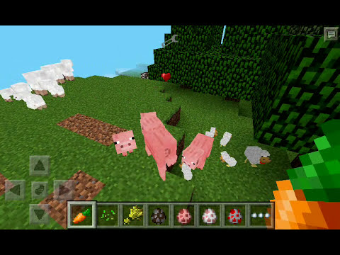 Tutorial de como aparear animales en minecraft pe