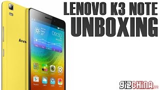 Lenovo K3 Note Unboxing & First Impressions - MT6752 64-Bit 8-Core FHD Budget Phablet (gizchina.de)