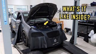 Opening the Engine on the High Mileage GOLF GTI!