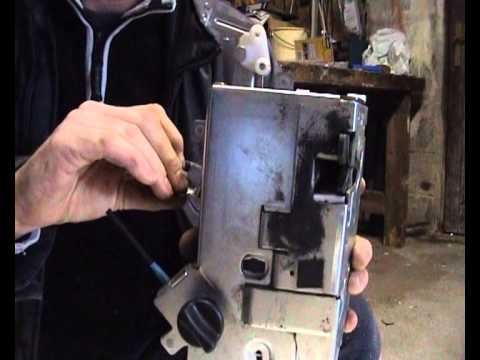 Ford Transit Mk7 Sliding Door Lock Youtube