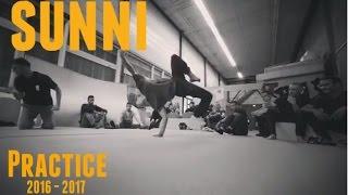 BBoy Sunni - Treningi 2016 - 2017