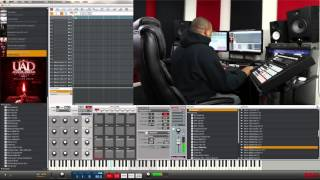 MPC Touch - Maschine - Demo Review - UAD Analog Drums Vol 1