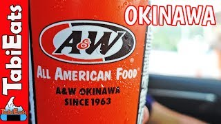 A&W in JAPAN (Root Beer & Burgers Review)