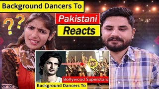 Pakistani Reacts To | 9 Background Dancers Who Became BIG Superstars of Bollywood
