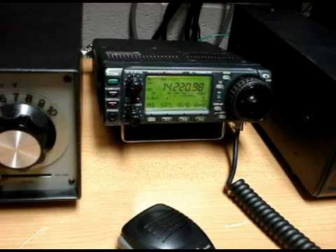 W8AL QSO With Liverpool, UK
