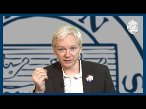 WikiLeaks Movie Revealed | Julian Assange | Oxford Union