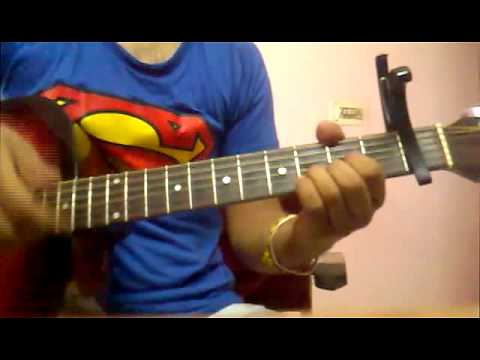 learn MAERI (EUPHORIA) on guitar