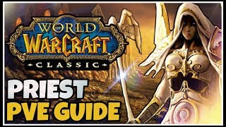 Classic WoW Priest PvE Guide (Races, Talents, Consumables, Rotation)   Classic WoW Class Guides