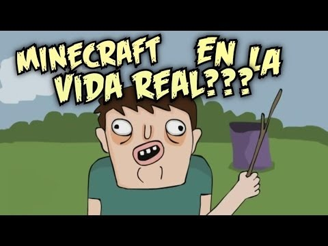 Parodia Animada MINECRAFT EN LA VIDA REAL NO POR FAVOR