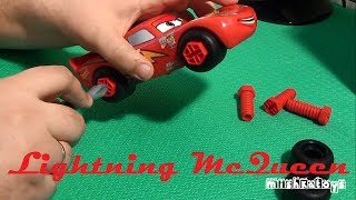 Молния Маквин Маккуин собираем конструктор Lightning McQueen Cars 2 Constructor set