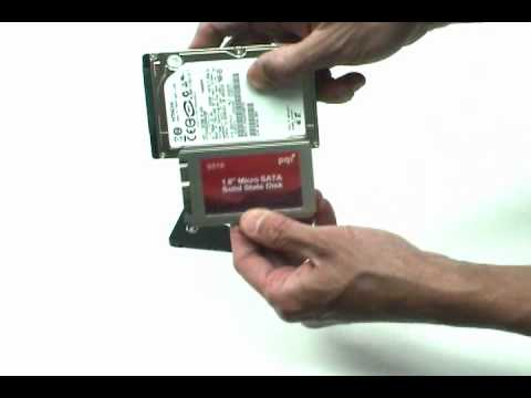 """convert 1.8"""" ssd to fit 2.5"""" laptop hdd bay youtube"""