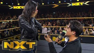 Angel Garza proposes to his girlfriend: NXT Exclusive, Dec. 11, 2019