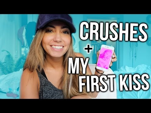 CRUSHES & FIRST KISSES!! Snapchat Q&A!