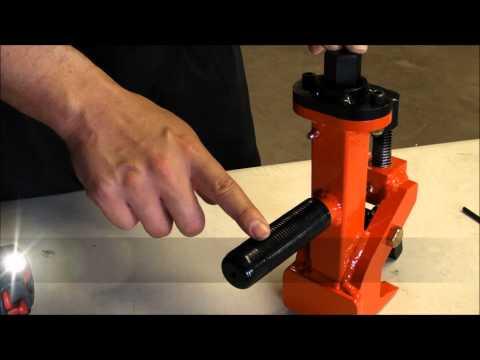 ESCO Pneumatic Bead Breaker Description Video [Model 20429]