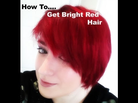 how to get bright red hair without bleaching!!! Using Loreal hicolor