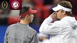 Alabama Players On Difference Between Kiffin & Sarkisian | Inside The National Championship