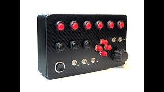 El yapımı Button Box.