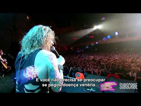 Steel Panther - Girl From Oklahoma Ao Vivo Legendado [PT-BR]