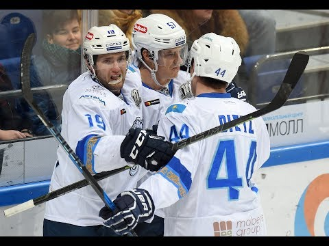 Barys 3 Jokerit 2 OT, 25 October 2017 Highlights