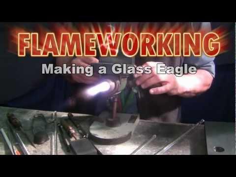 Flameworking - Making a Glass Eagle