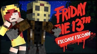 Minecraft: JASON PROTEGEU UMA VÍTIMA?! ESCONDE-ESCONDE DO SEXTA FEIRA 13!